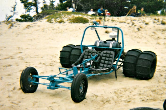 1969 – Sand Rail with VW air-cooled engine